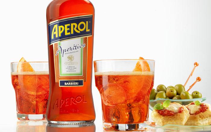 Aperol spritz frigo magazine for Bicchiere da spritz