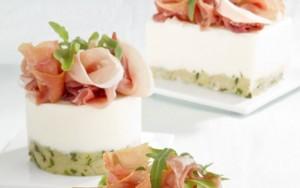 prosciutto-minicheesecake