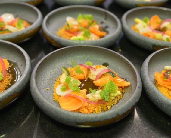 ristorante attimi fiumicino, aperto dallo chef Heinz Beck