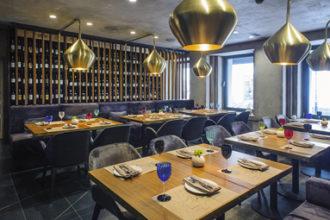 Alma Design ha arredato il ristorante Grand Cru di Mosca