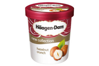 Häagen-Dazs Hazelnut Crunch, il nuovo gusto lanciato per l'estate 2017