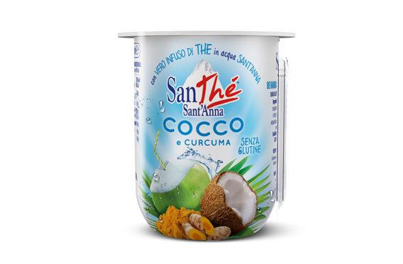 SanThé Sant'Anna Cocco e Curcuma, nuovo prodotto per l'estate 2017