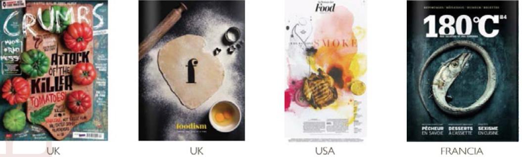 le riviste foodies nel mondo
