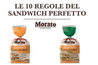 10 regole del sandwich gourmet, Morato Pane iniziativa con Frigo Magazine nelle scuole di cucina amatoriale