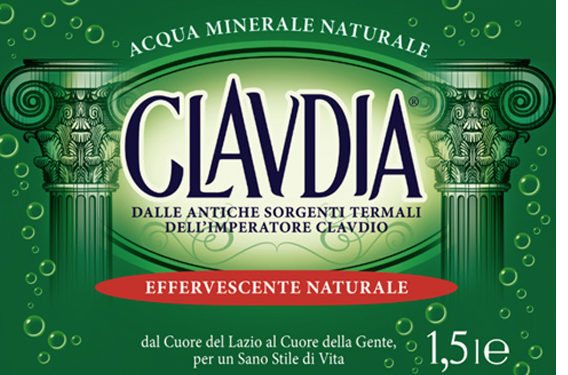 acqua claudia cambia look, nuovo packaging