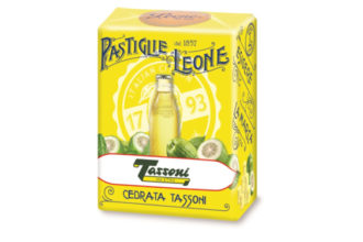 Pastiglie Leone Cedrata Tassoni, dall'unione di due aziende icone del made in Italy, un prodotto in edizione limitata per collezionisti