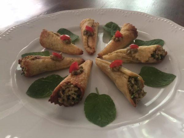 ricetta olive Valbona, ricetta della scuola di cucina di Lella a Siena, ricetta di marca per iniziativa Scuola Valbona