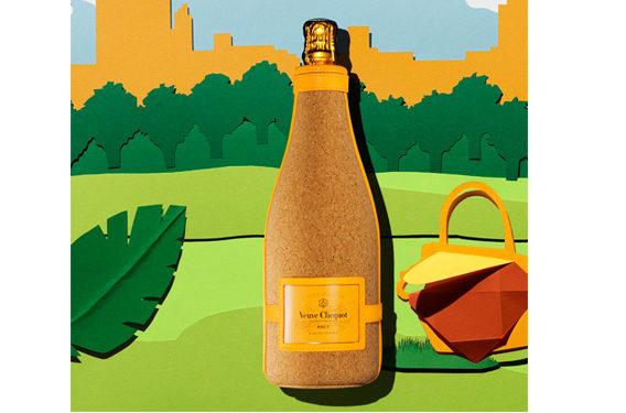 Clicquot Cork Ice Jacket, novità Veueve Clicquot per tenere fresco lo champagne, drink news Frigo Magazine