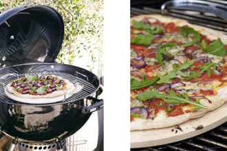 Weber Kettle Plus, ideale per una pizza barbecue, prodotto news food, Frigo Magazine