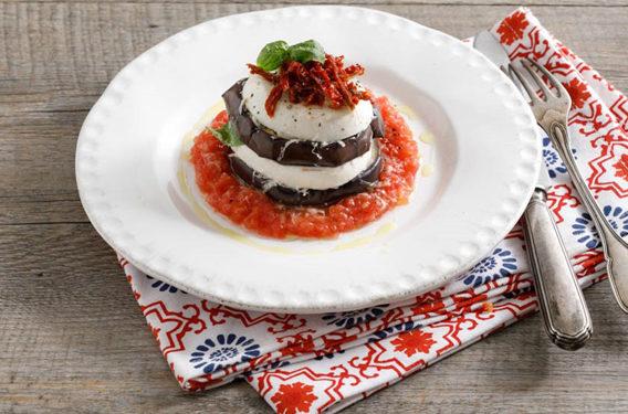 Ricetta olio Zucchi, ricetta di marca Frigo Magazine, parmigiana fredda