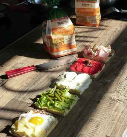 """ricetta Morato Pane della scuola di cucina Cucina In di Milano, per iniziativa """"A lezione di Sandwich Gourmet"""", ricette di marca Frigo Magazine"""