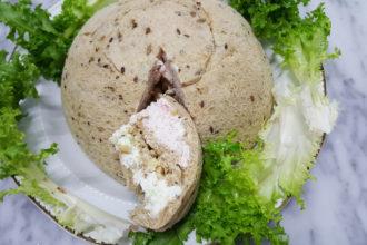 ricetta morato pane, zuccotto salato, ricetta scuola di cucina Il Gusto del Tacco di Lecce, ricetta di marca Frigo Magazine
