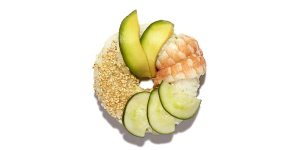Sushi Donuts, novità da Sushi Daily, food news Frigo Magazine