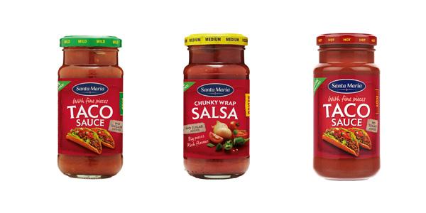 taco sauce Santa Maria, prodotto food