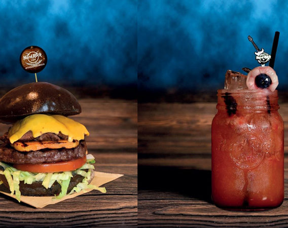 voodoo burger, halloween 2017, hard rock cafe, frigo magazine news food