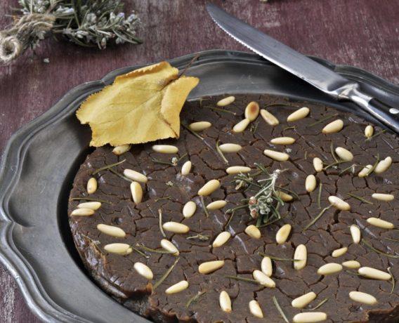ricetta sagra, castagnaccio con olio di oliva Sagra, ricetta di marca Frigo Magazine