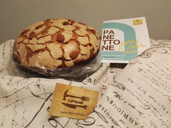 ricetta farina petra, il panettone di Rolando Morandin, ricetta della scuola di cucina Cooklab di Torino, ricetta dello chef Antonio Labriola, ricetta di marca Frigo Magazine