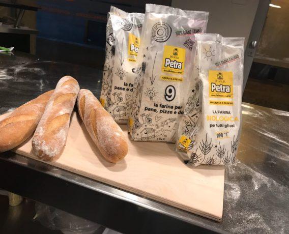 """ricetta farina petra, la ciabatta, ricetta della scuola di cucina PassionQKing di Milano, iniziativa """"A lezione di farina"""""""