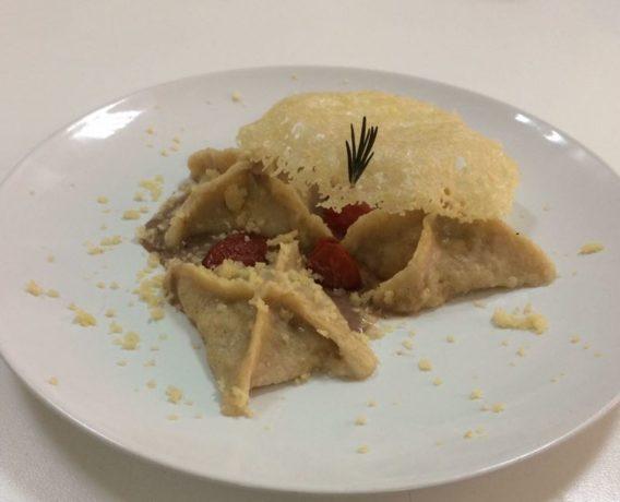 """ricetta farine petra, gnocchi di patate ripieni, ricetta scuola di cucina EFOPASS di Napoli, iniziativa """"A lezione di farina"""""""