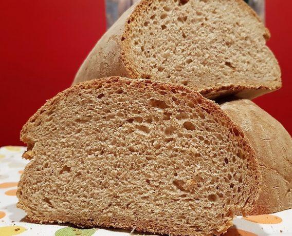 ricetta farina Petra, pane al farro, ricetta della scuola di cucina Gusti Tuscia di Torino, iniziativa #alezionedifarina
