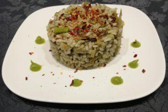 ricetta riso La Pila, riso di primavera, iniziativa #alezionedifarina, ricetta di marca Frigo Magazine
