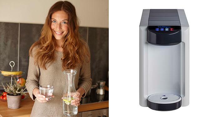 Culligan presenta Selfizz 15 acqua fredda, liscia e frizzante da un unico erogatore compatto