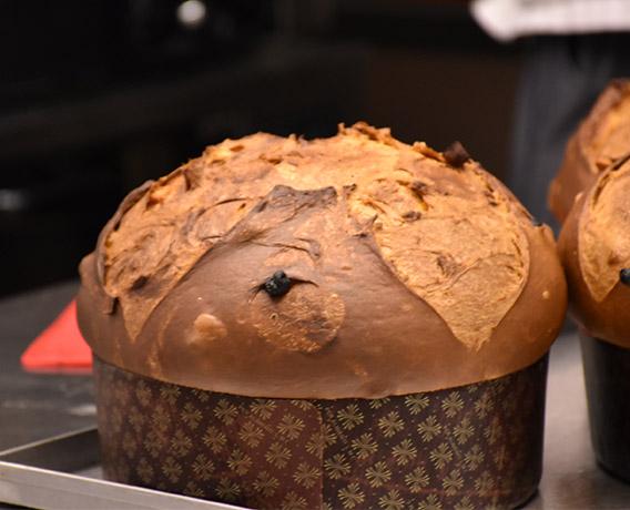 ricetta farina Petra, il panettone, ricetta della scuola di cucina Paideia di Milano per iniziativa #alezionedifarina