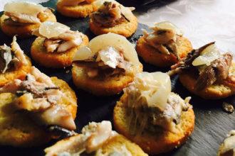sarde in saor, ricetta della scuola di cucina Peccati di Gola di Mestre, ricette tradizione Veneto