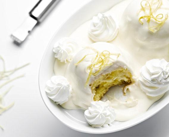 delizia al limone, ricetta della scuola di cucina CucinAmica di Napoli, ricetta della tradizione Campania