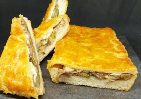 pizza di scarola, ricetta della scuola di cucina Dolce & Salato di Maddaloni (CE), ricetta della tradizione campana