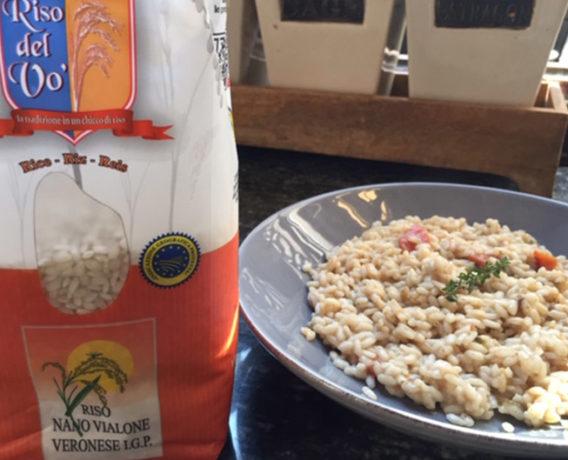 ricetta La Pila, risotto con fondo di osso buco, ricetta della scuola di cucina Il Giardino dei Sapori di Milano, iniziativa #alezionedirisoclassico