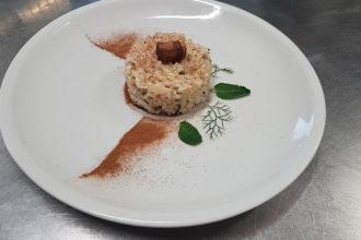 ricetta La Pila, risotto three-flavours, ricetta di Accademia Italiana Chef, iniziativa #alezionedirisoclassico