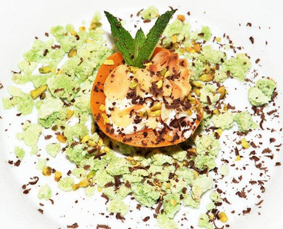 pesca e gorgonzola, ricetta dello chef Gianpiero Cravero, ricetta di marca